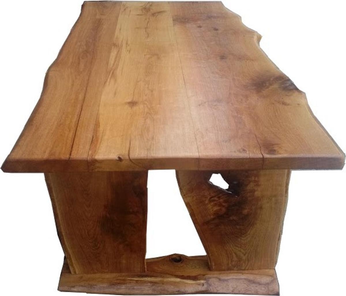 Casa Padrino Vintage Esstisch Eiche Rustikal Massiv 200 X 100 Cm Mod Tr2 Landhaus Stil Tisch Massives Eichenholz Barockgrosshandel De