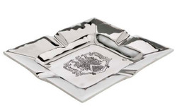 Casa Padrino luxury ashtray plated 19 x 16 cm