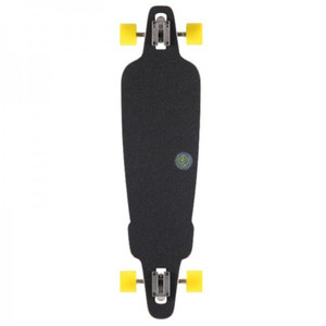 Flying Wheels Longboard Drop Through Cruiser Rig Navy 38.5 Komplettboard - Carver - Special Edition mit Koston Kugellagern Drop Thru – Bild 3