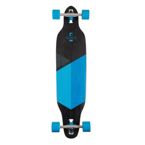 RAM Drop Through Longboard Komplettboard Solitary 2.0 Blue - Special Edition mit Koston Kugellagern