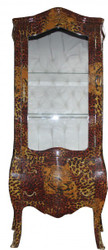 Casa Padrino Baroque showcase Leopard - display cabinet - cupboard