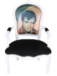 Casa Padrino Baroque Salon Chair Elvis Presley - baroque antique style furniture