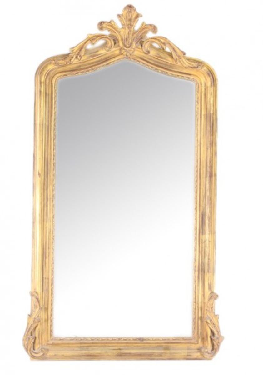 casa padrino luxus barock wandspiegel gold 150 x 75 cm. Black Bedroom Furniture Sets. Home Design Ideas