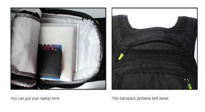 Koston Pro Skateboard Nackpack Black - Backpack with boardcatcher and many pockets – Bild 5
