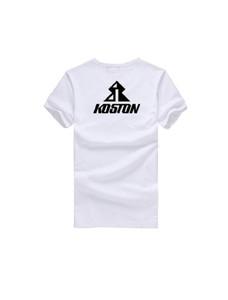 Koston Skateboard T-Shirt Weiß Logo – Bild 2