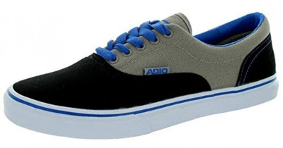 Adio Skateboard Schuhe Canvas Cruiser Black / Grey / Royal - Sneakers Sneaker Vegan