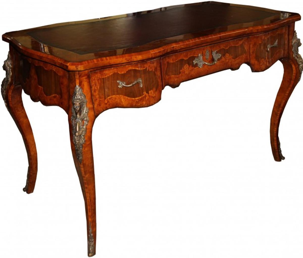 casa padrino luxus barock empire schreibtisch sekret r 130. Black Bedroom Furniture Sets. Home Design Ideas