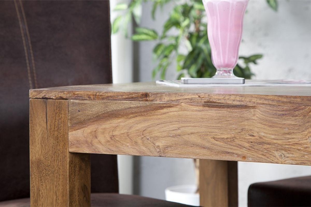 ... Casa Padrino Massivholz Esstisch Sheesham Holz 120 Cm   Esszimmer Tisch  Massiv 5 ...