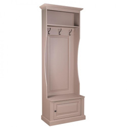 Casa Padrino Nouveau wall wardrobe with shelf and cupboard - country-style Locker