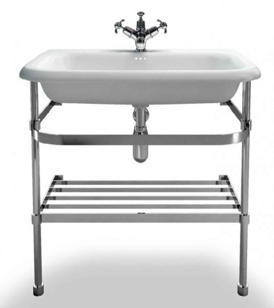 Casa padrino jugendstil stand waschtisch naturstein wei for Industriedesign wuppertal