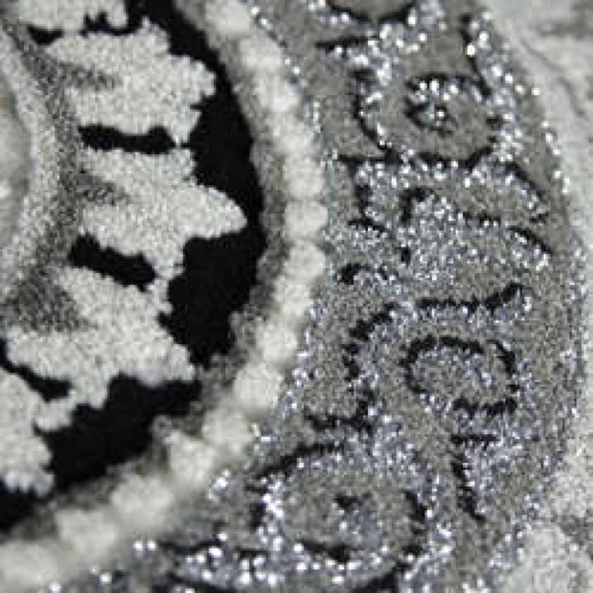 casa padrino barock stil teppich silber schwarz m ander handgefertigt m bel barock teppich. Black Bedroom Furniture Sets. Home Design Ideas