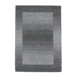 Casa Padrino carpet wool silver-gray Handmade - Designer Carpet