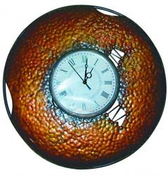 Casa Padrino Vintage Wanduhr Metall - Edel & Prunkvoll - Wand Uhr