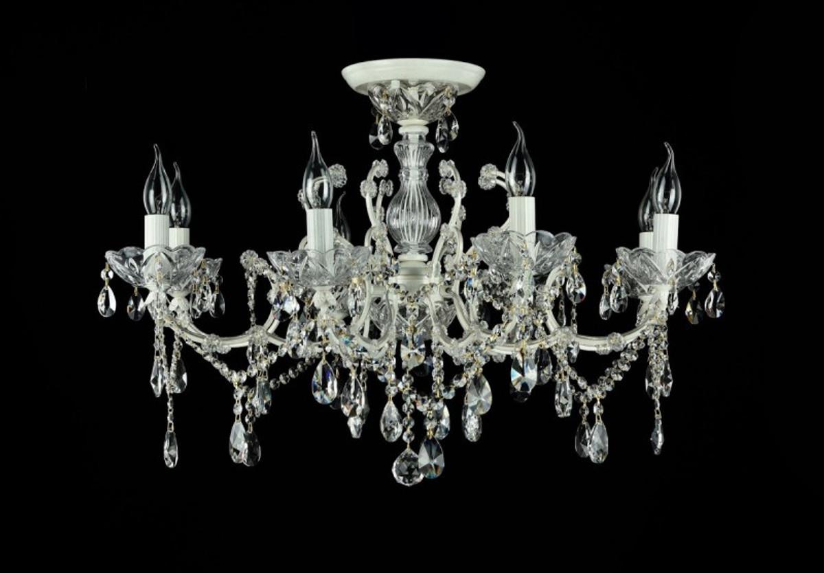 Antik Kronleuchter Lüster Kristall Lampe ~ Casa padrino barock kristall decken kronleuchter cream gold 76 x h