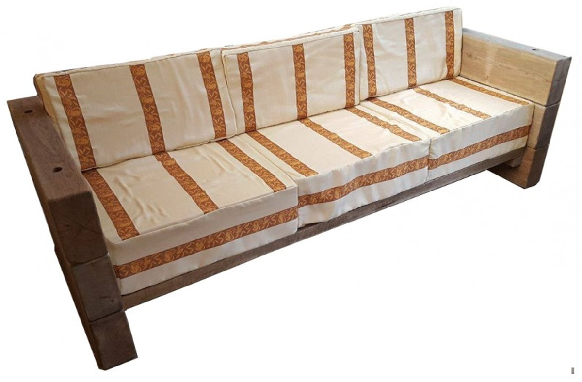 Rustikales sofa great sitzer with rustikales sofa for Sofa rustikal