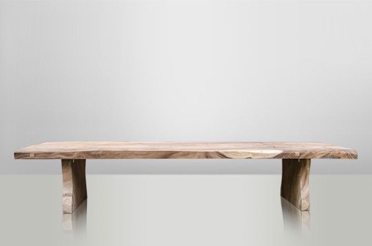 casa padrino massivholz baumstamm esstisch soar holz massiver esstisch extra lang bild 8
