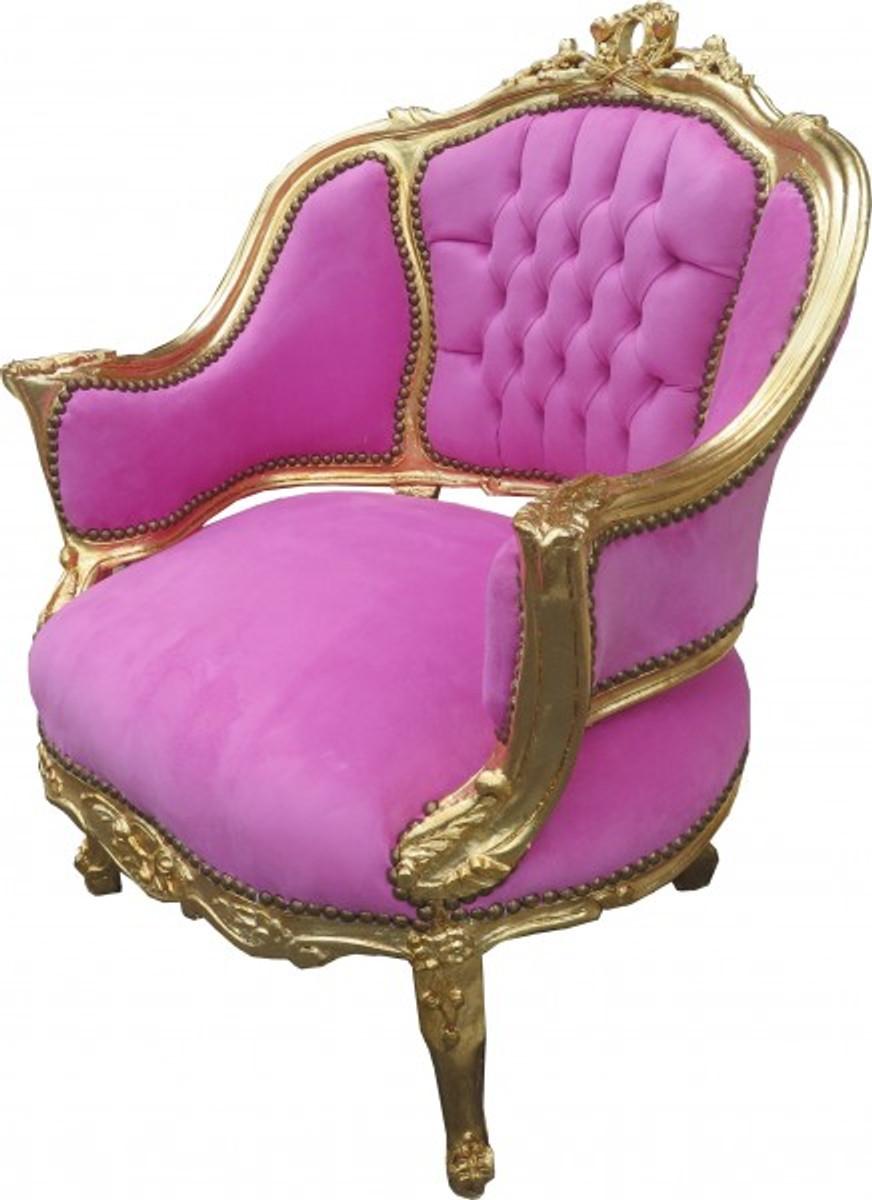 casa padrino barock salon lounge sessel rosa gold cocktailsessel sessel salon sessel. Black Bedroom Furniture Sets. Home Design Ideas