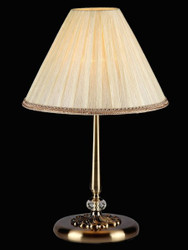 Casa Padrino luxury table lamp bronze / lampshade ivory 30 x 47 cm - lamp - Luxury Collection