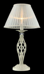 Casa Padrino luxury crystal table lamp cream gold / lampshade cream 32 x 56 cm - lamp - Luxury Collection