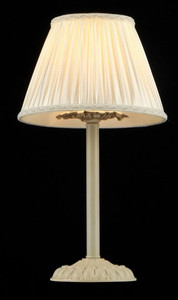 Casa Padrino luxury table lamp ivory / lampshade ivory 22 x 38 cm - lamp - Luxury Collection