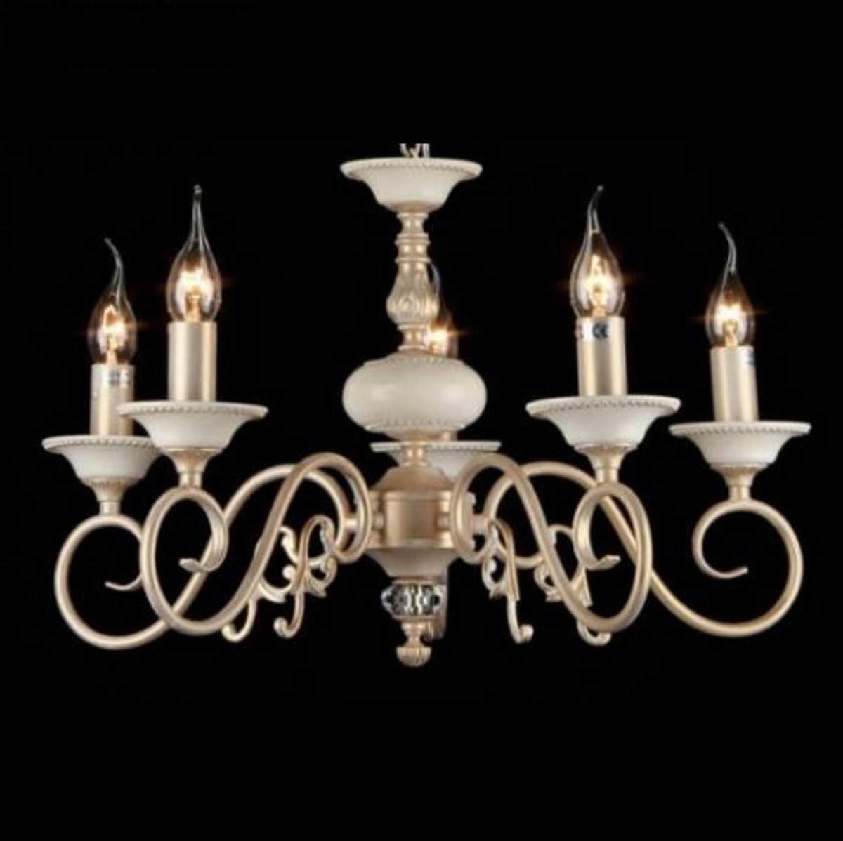 Uberlegen Casa Padrino Barock Decken Kronleuchter Creme Gold 56 X H 36 Cm Antik Stil    Möbel Lüster Leuchter Hängeleuchte Hängelampe