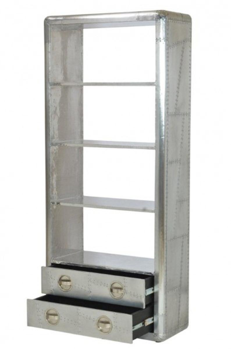 casa padrino luxus designer aluminium b cherregal mit. Black Bedroom Furniture Sets. Home Design Ideas