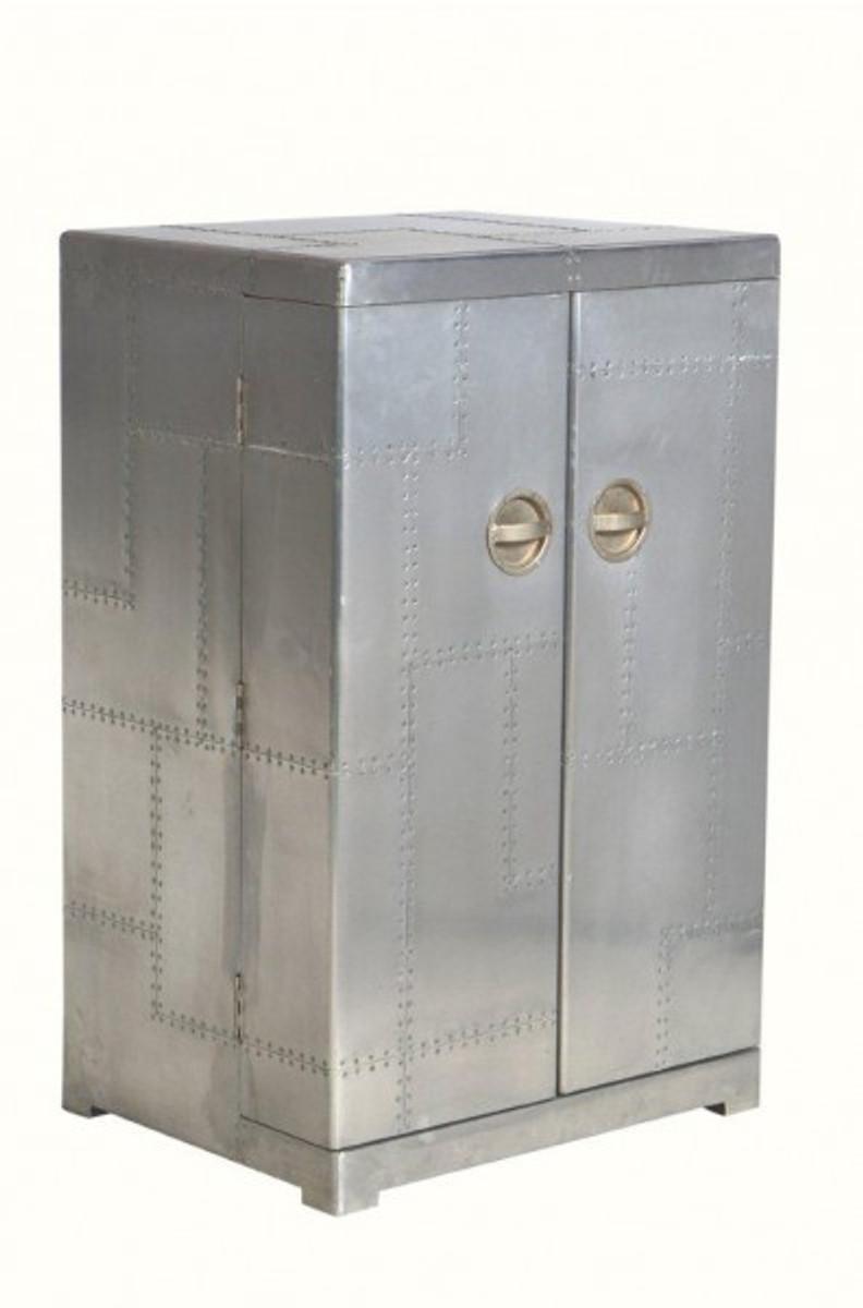 casa padrino luxus aluminium wein schrank koffer design weinschrank vintage flieger mobel bild