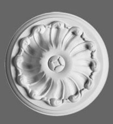 Casa Padrino stucco rosette 15 x 15 cm ceiling stucco ceiling rose stucco rosette Wall rosette stucco wall