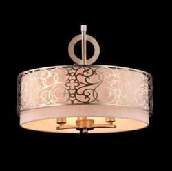 Casa Padrino Barock Decken Kronleuchter Gold 46,4 x H 35,2 cm Antik Stil - Möbel Lüster Leuchter Deckenleuchte Hängelampe