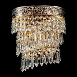 Casa Padrino Baroque Wall Lights Gold 17 x H 20.5 Antique style - wall lamp wall lighting