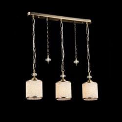 Casa Padrino Jugendstil Decken Hängelampe Antik Bronze 60 x H 25 cm Antik Stil - Möbel Lüster Leuchter Deckenleuchte Hängelampe