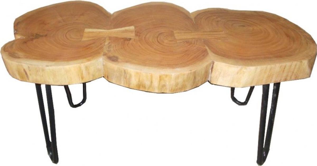 Casa Padrino Beistelltisch Akazien Holz Eisen 80 120 Cm