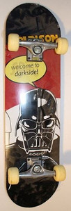 Darkside Skateboard Beginner Komplett Board B-Ware – Bild 1