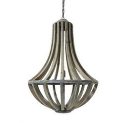 Casa Padrino Industry Ceiling Hanging Brown Diameter 61 x H 90 cm Industry - Furniture Hanging Lamp
