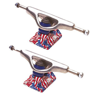 Grindking Skateboard Achsen Set Low Patriot USA 7.5 (2 Achsen)