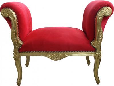 Dormouse con inserti in foglia oro sgabello divano camera da letto