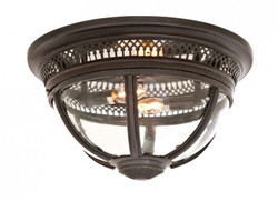 Casa Padrino Luxury Ceiling Light Bronze Diameter 45 x H 30 cm antique style - Luxury Furniture Ceiling Lamp