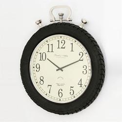 Casa Padrino Vintage Wall Clock Rallye Aluminum - Designer Wall Clock