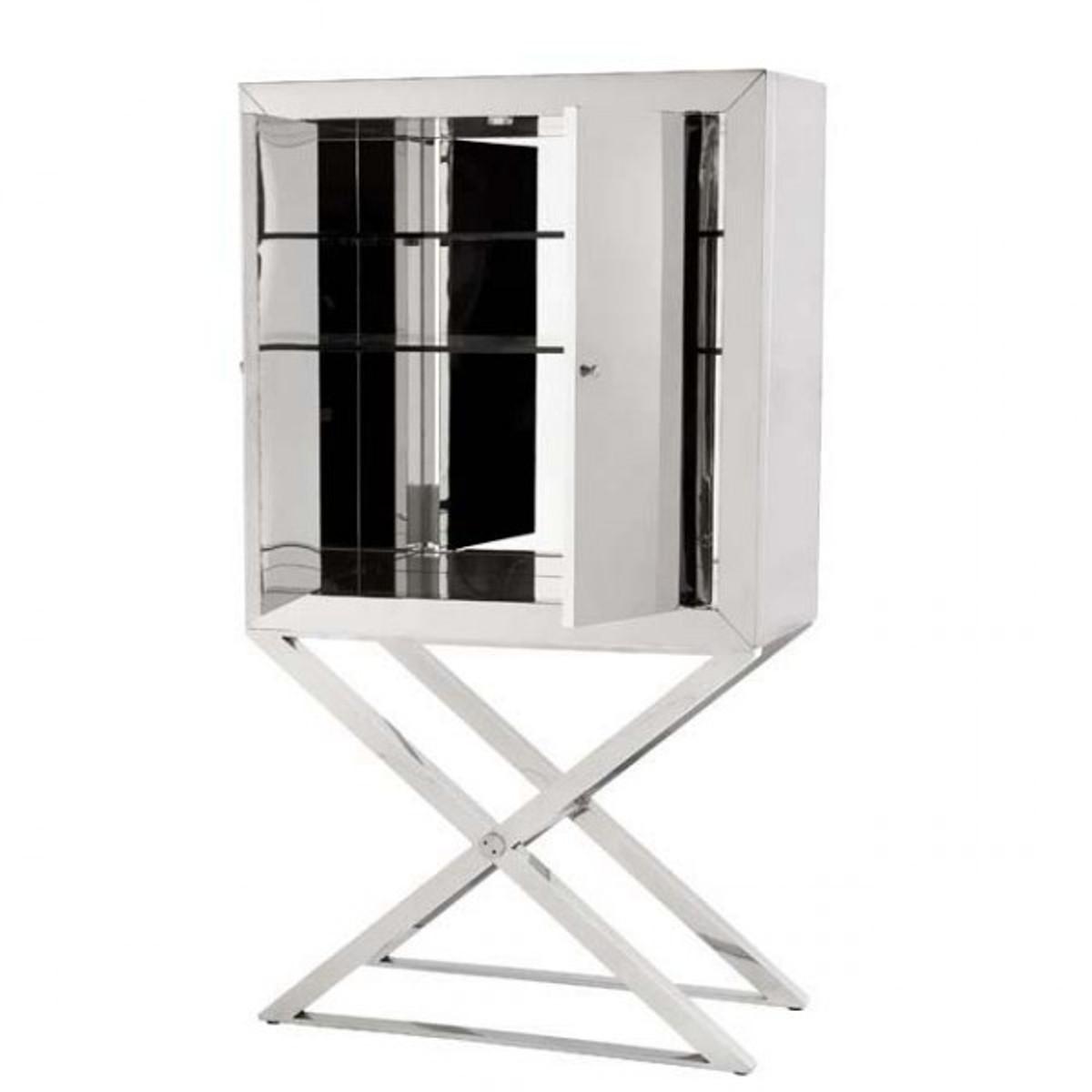 casa padrino luxus designer barschrank edelstahl verspiegelt luxus hotel m bel spiegel m bel. Black Bedroom Furniture Sets. Home Design Ideas