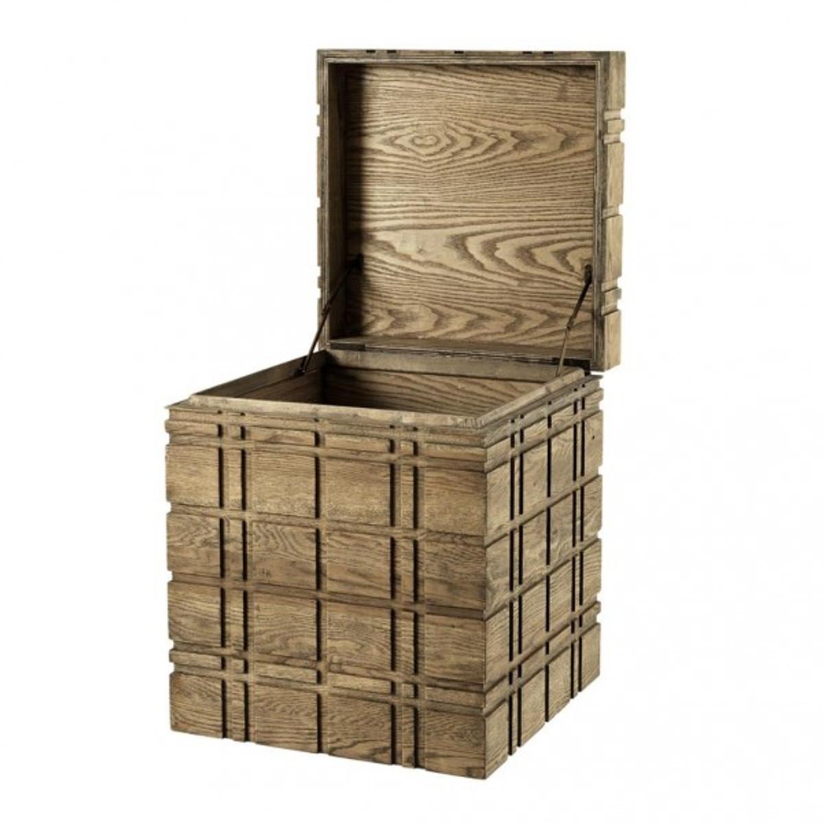 casa padrino luxus schrank truhe holz eiche art deco barock jugendstil truhenschrank kommoden. Black Bedroom Furniture Sets. Home Design Ideas
