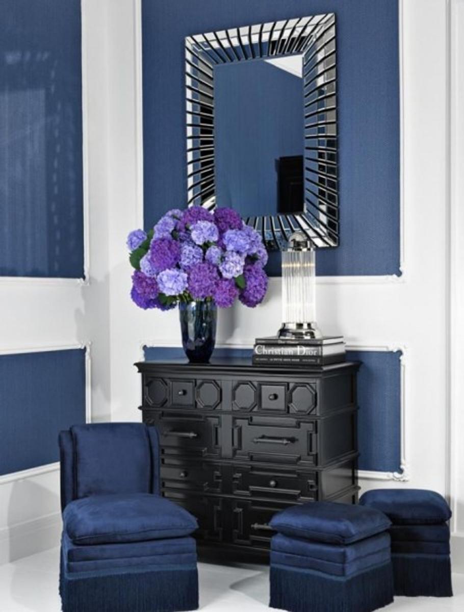 Casa Padrino Designer Luxus Spiegelglas Wandspiegel 90 x H 120 cm ...