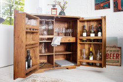 Casa Padrino Bar wine cabinet 90 x 50 x H100 cm - Whiskey cabinet bar Antique style - Art Nouveau style