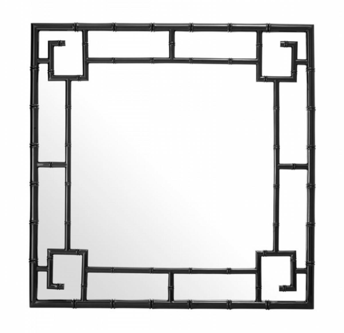 casa padrino designer luxus wandspiegel schwarz 100 x h. Black Bedroom Furniture Sets. Home Design Ideas