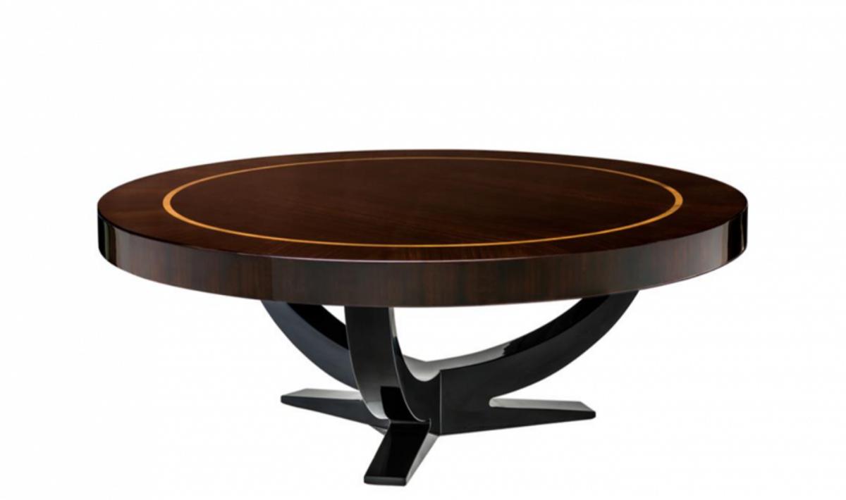 - Casa Padrino Art Deco Luxury Coffee Table Diameter 100 X H. 38 Cm