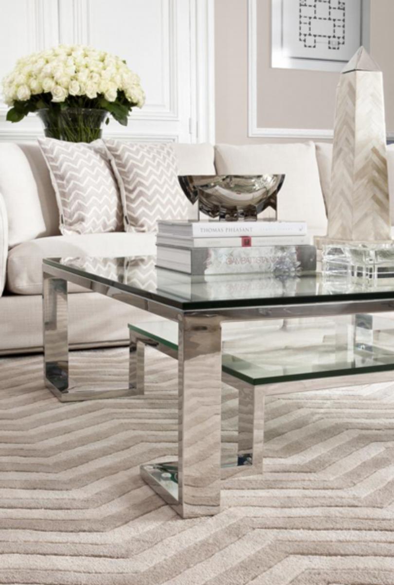 casa padrino luxus art deco designer couchtisch 120 x 120 x h 40 cm wohnzimmer salon tisch. Black Bedroom Furniture Sets. Home Design Ideas