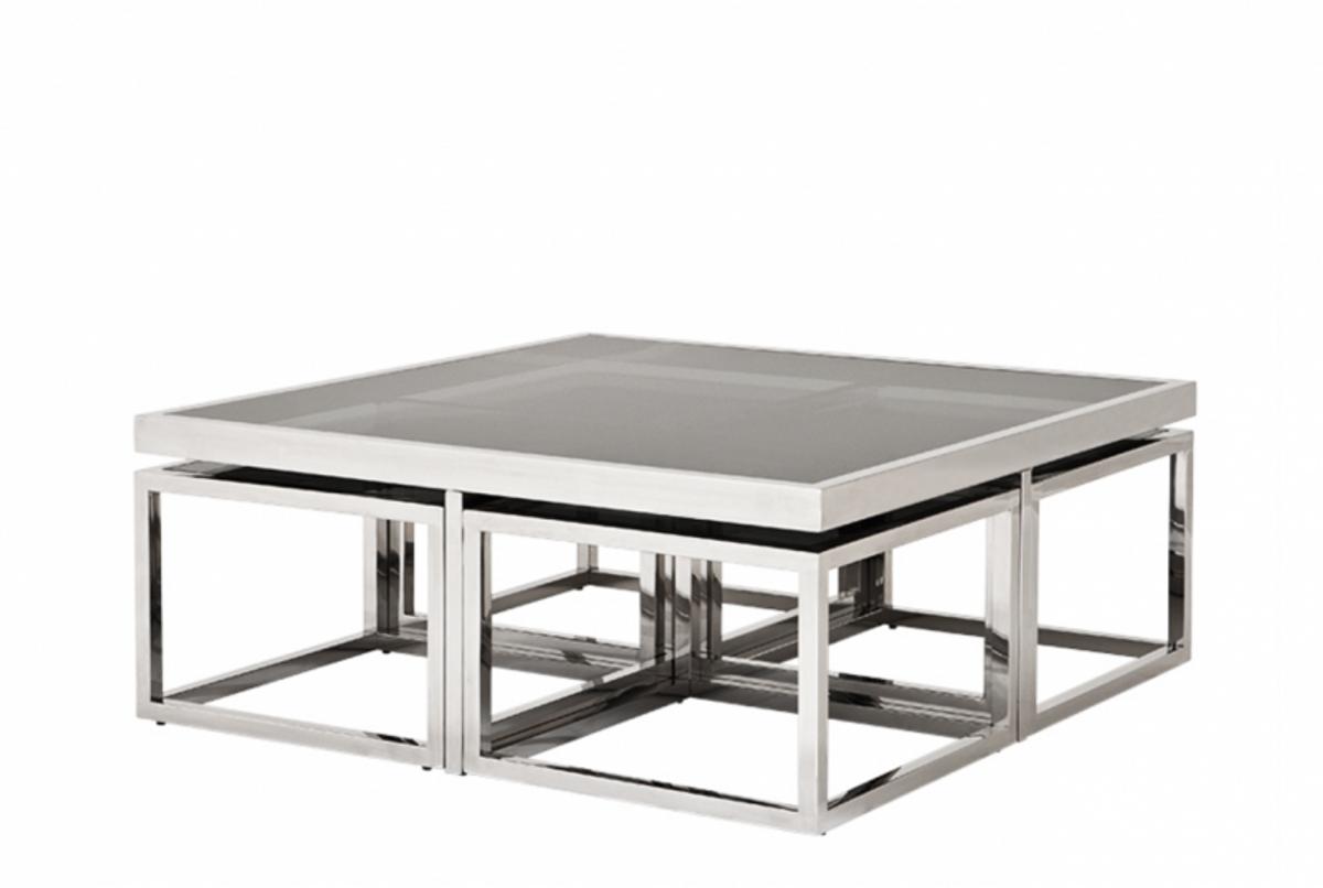 - Casa Padrino Art Deco Luxury Coffee Table Set Of 5 With Smoke