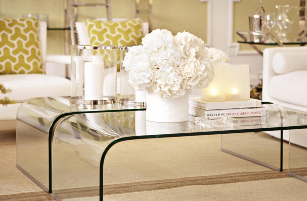 Casa Padrino Luxus Art Deco Designer Glas Couchtisch - Wohnzimmer ...