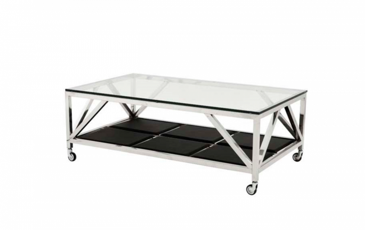 Casa padrino art deco luxury coffee table 140 x 80 x h 50 for Coffee table 80 x 50