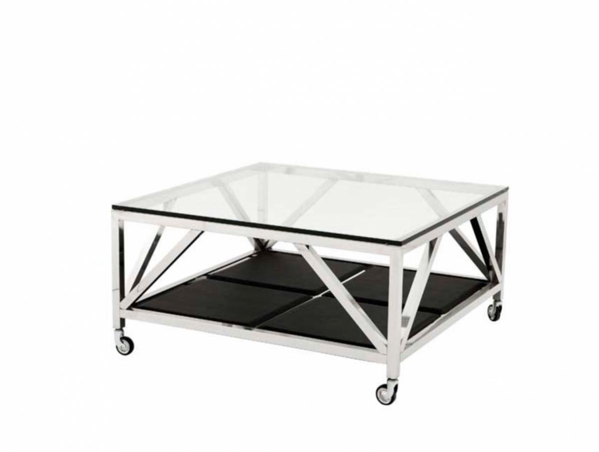 - Casa Padrino Art Deco Luxury Coffee Table 100 X 100 X H. 50 Cm
