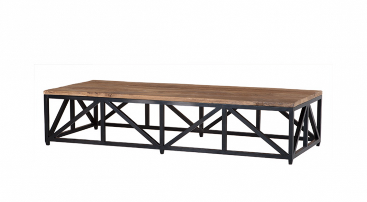 - Casa Padrino Art Deco Luxury Coffee Table Zinc - Living Room